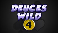 4 Zeiler Deuces Wild Video Poker