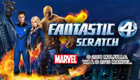 Fantastic Four Scratch Card