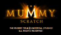 The Mummy Scratch Card