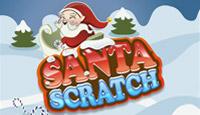 Santa Scratch Cards