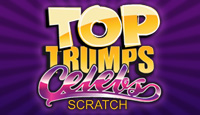 Top Trumps Celebs Scratch Cards