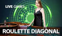 Live Exclusive Roulette Diagonal