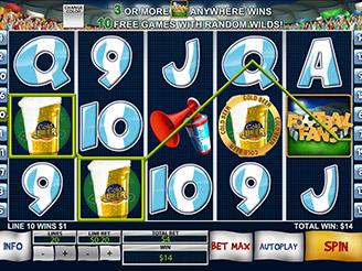 Spielen sie Football Fans Automatenspiele Online bei Casino.com Österreich