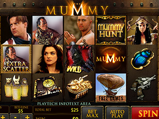 Play The Mummy Slots Online at Casino.com NZ