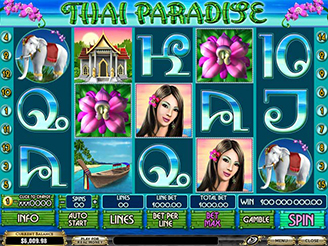 Play Thai Paradise Online Slot at Casino.com UK