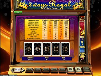 2 Ways Royal Online Videopoker