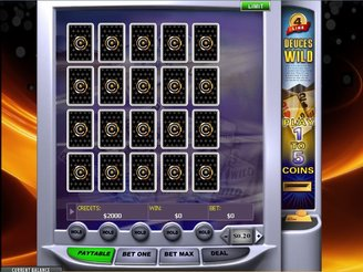 Play Deuces Wild Videopoker Online at Casino.com Australia