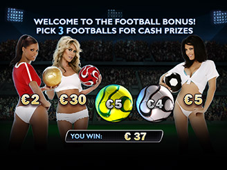Play Benchwarmer Football Girls Slots Online at Casino.com NZ