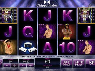 Chippendales Spielautomat | Casino.com Schweiz