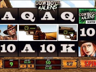 Spielen sie Cowboys and Aliens Automatenspiele Online bei Casino.com Österreich