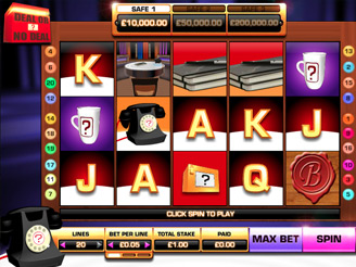 Deal or No Deal UK Slots