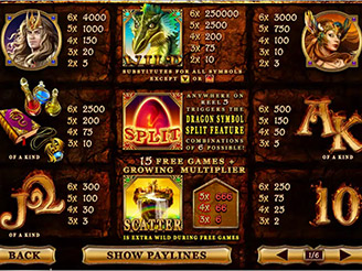 Play Dragon Kingdom Online Pokies at Casino.com Australia