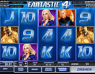 play free fantastic four games