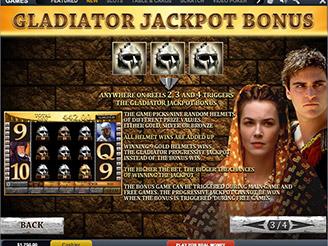 Gladiator Jackpot Spielautomat | Casino.com Schweiz