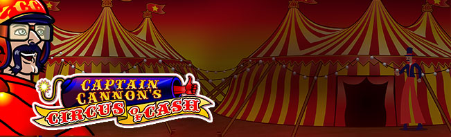 Play Captain Cannon's Circus of Cash online slots Casino.com
