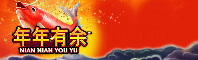 Play Nian Nian You Yu Slot at Casino.com UK