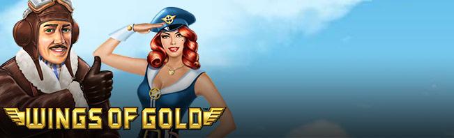 Spela Wings of Gold Spelautomat på nätet på Casino.com Sverige