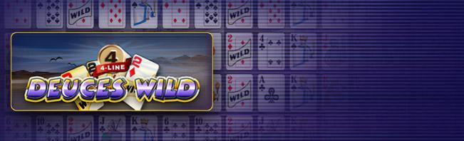 Deuces Wild Online Videopoker