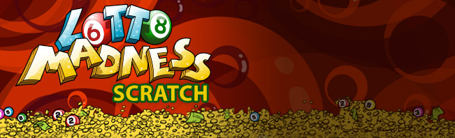 Play Lotto Madness Scratch at Casino.com UK