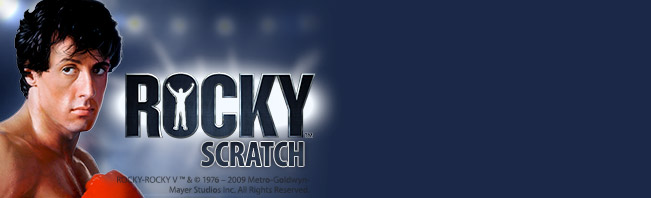 Play Rocky Scratch Online at Casino.com Australia