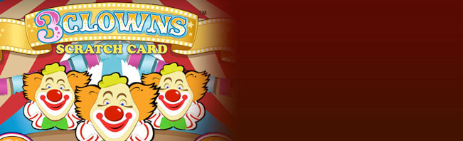 Play 3 Clowns Scratch Online at Casino.com Canada