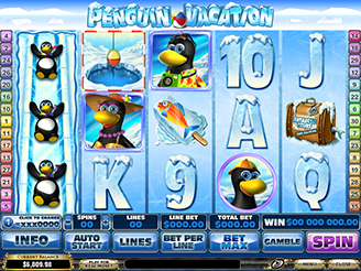 Penguin Vacation Slots | $/£/€400 Welcome Bonus | Casino.com