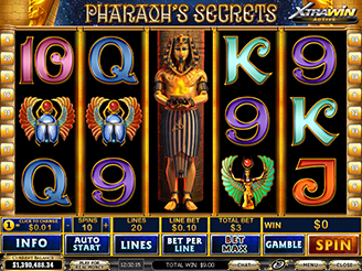 Machine à sous Pharaohs Secrets | Casino.com France