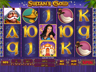 Machines à sous Sultan's Gold | Casino.com France