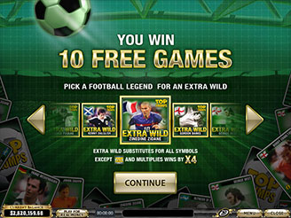 Play Top Trumps Celebs Football Legends Pokies Online