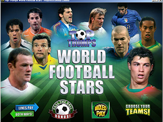 Play Top Trumps Celebs Football Stars Online Pokies at Casino.com Australia