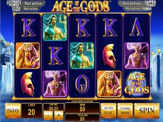 Play Age of Gods Slot at Casino.com UK