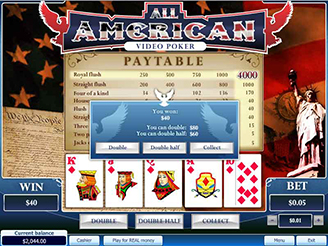 how to play online casino poker american 2