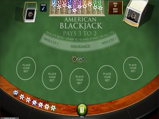 Play American Blackjack Online