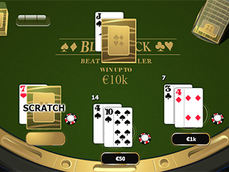 Play Blackjack Scratch Online at Casino.com Canada