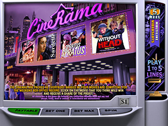 Machines à sous Cinerama | Casino.com France