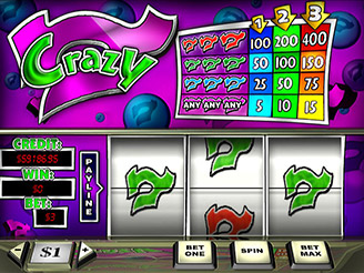 Play Crazy 7 Slots Online at Casino.com NZ