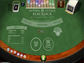 Play Double Attack Blackjack Online