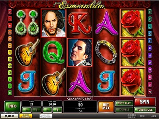 Play Esmeralda online Slots at Casino.com