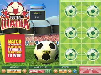 Play Football Mania Scratch at Casino.com UK
