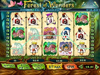 Play Forest of Wonders Slots Online