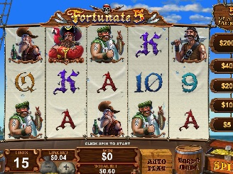 Play Fortunate 5 online slots at Casino.com