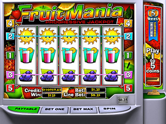Machines à sous Fruit Mania | Casino.com France