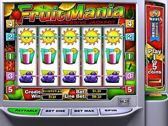 Machines à sous Fruit Mania | Casino.com France