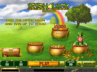 Play Rocky Scratch Online at Casino.com NZ