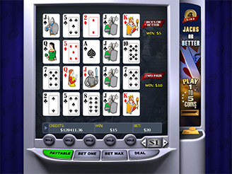 Play 4-Line Jacks or Better Video Poker Online
