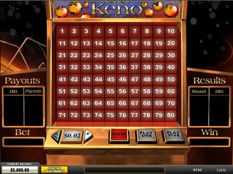 Play Fortune Keno Arcade Games Online at Casino.com NZ