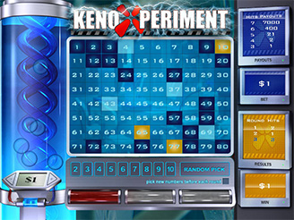 Play Keno Xperiment Arcade Games at Casino.com