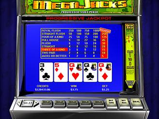 MegaJack Videopoker