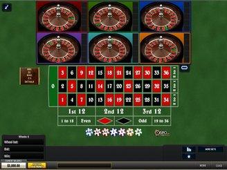 Play Multi Wheel Roulette Online
