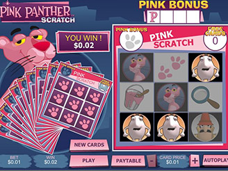 Play Pink Panther Scratch Online at Casino.com Canada